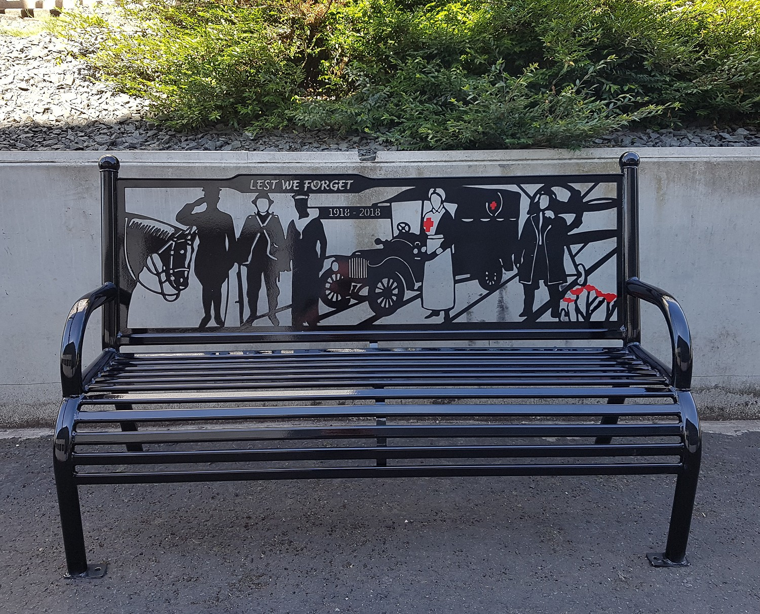 Armed Forces Bench Seat 183 David Ogilvie Engineering