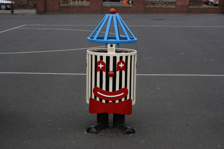 Clown Bin 183 David Ogilvie Engineering 183 Street Park