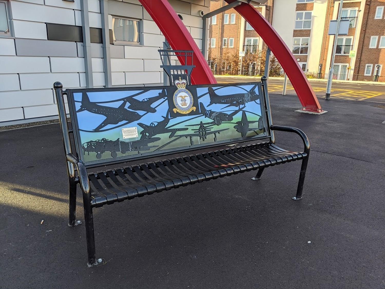 Raf Bench Seat 183 David Ogilvie Engineering 183 Street Park